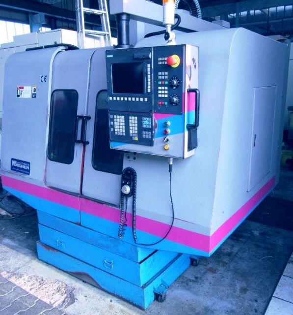 Vertikal CNC Fräszentrum Wagner WMC  650 2002