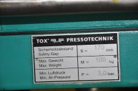 Presă hidraulică C cadru TOX PRESSOTECHNIK PC 015.091 2001-Fotografie 8