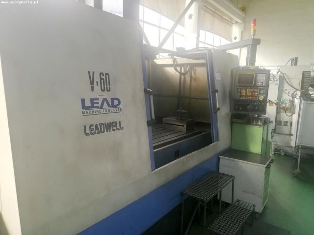 Centre dusinage vertical CNC LEADWELL LEAD V 60 1998