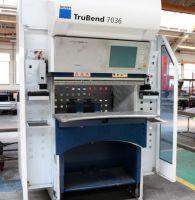 Hydraulic Press Brake TRUMPF TRUBEND 7036