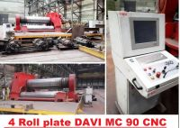 CNC vouwmachine DAVI MC 90 CNC