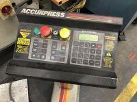 CNC Hydraulic Press Brake ACCURPRESS 7608 2003-Photo 7