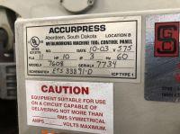 CNC Hydraulic Press Brake ACCURPRESS 7608 2003-Photo 11