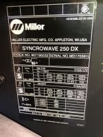Multi-spot Welding Machine MILLER Syncrowave 250 DX 2013-Photo 8