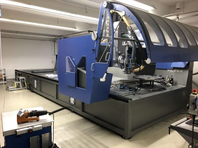 CNC Portal Milling Machine WISSNER WiTec 6020 2012