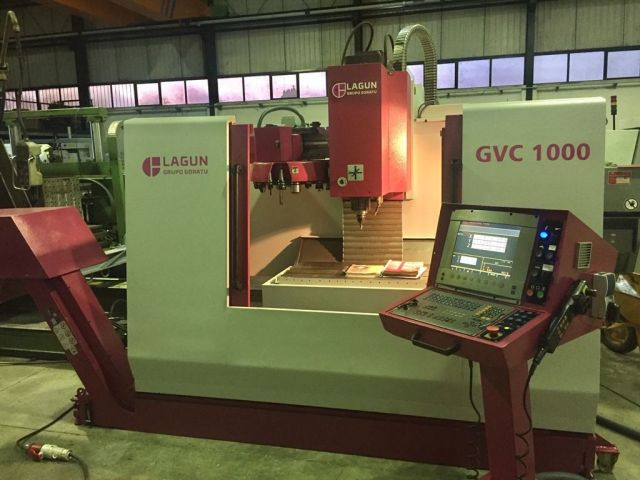Centre dusinage vertical CNC LAGUN GVC 1000 2001