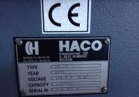 3 Roll Plate Bending Machine HACO Maxi 2003-Photo 3