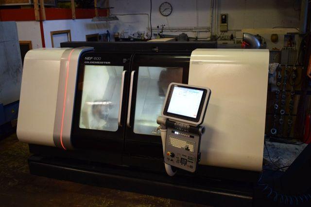 Torno automático CNC DMG GILDEMEISTER NEF 600 2009