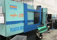 Muovin ruiskuvalu kone Nuova Plastic Metal Unyka 220