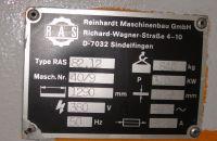 Mechanical Guillotine Shear RAS 82.12 1990-Photo 6