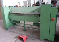 Skladací stroj na plechu SCHROEDER MAK V 1500 / 2,5