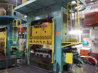 Presse hydraulique à col de cygne ZDAS LUD 500/2000 1968-Photo 3
