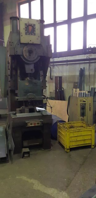 C Frame Hydraulic Press ZTS LEK 160 1997