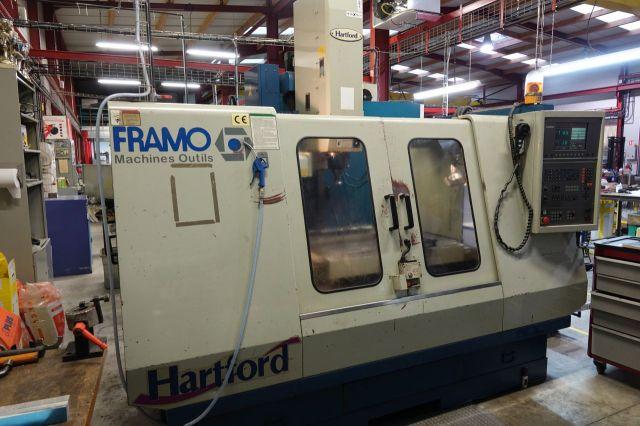 Centre dusinage vertical CNC HARTFORD 1020 1999