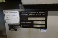 Rectifieuse cylindrique universelle inter exter SIT U 700 CA 1982-Photo 5