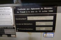 Rectifieuse cylindrique universelle inter exter SIT U 700 CA 1982-Photo 7