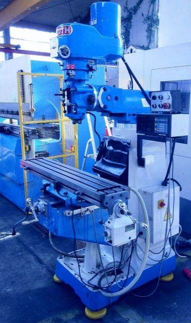 Universal-Fräsmaschine KNUTH MF  1  V 2000