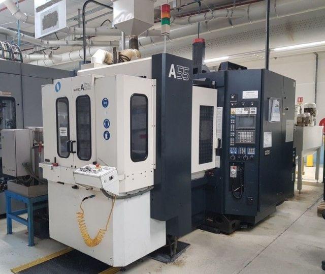 Centre dusinage horizontal CNC MAKINO A55-A40 Professional 3 2000
