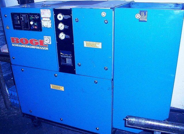 Schroefcompressor Boge VLEX  22  R - 9 1986