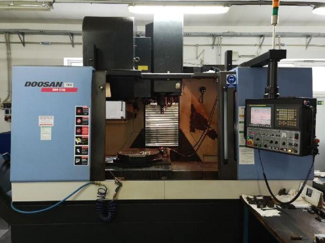 CNC Vertical Machining Center DOOSAN MYNX NM510 2008