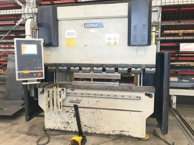 CNC Hydraulic Press Brake UZMA CAP-S 2040 2010