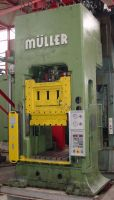 H Frame Hydraulic Press Müller ZE 160 10.1.10