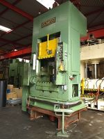 H Frame Hydraulic Press DUNKES HDZ 250 - 100