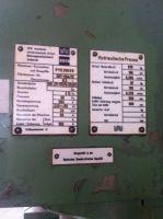 C ramme hydraulisk trykk WMW - ZEULENRODA PYE 250 SS 1985-Bilde 8