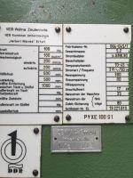 C ramme hydraulisk trykk WMW - ZEULENRODA PYXE 100 S1 1985-Bilde 4