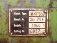 Piła tarczowa KALTENBACH WKF 500 1966-Zdjęcie 5