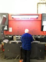 CNC Hydraulic Press Brake AMADA HFB 8025 1997-Photo 3