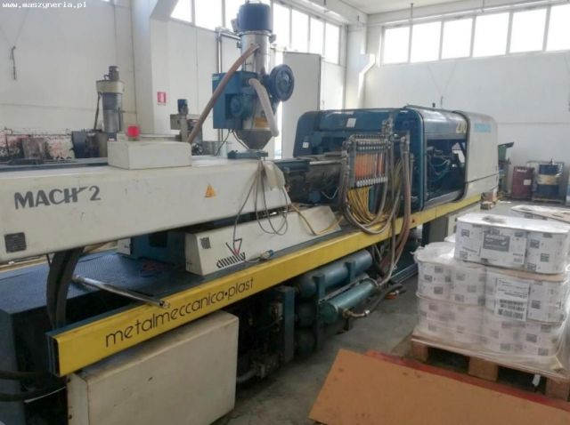 Plastics Injection Molding Machine SANDRETTO MODULA 270/1372 MACH 2 1999