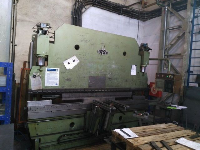 CNC hydraulický ohraňovací lis EHT EHPS 11-35 1988