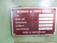Engrenagem da máquina de trituração REISHAUER NZA