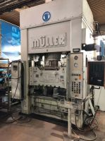H Frame Hydraulic Press FRITZ MULLER KEZ 250-13,5 / 5.1.1