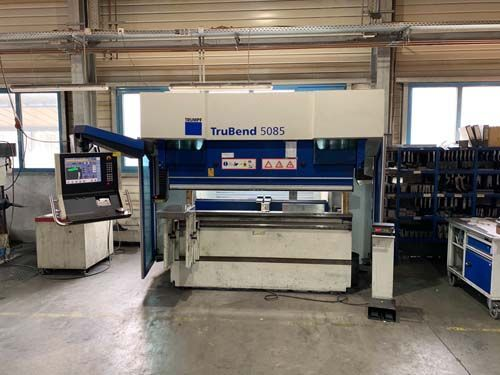 CNC Servo-Hydraulic Press Brake TRUMPF TruBend 5085 2008