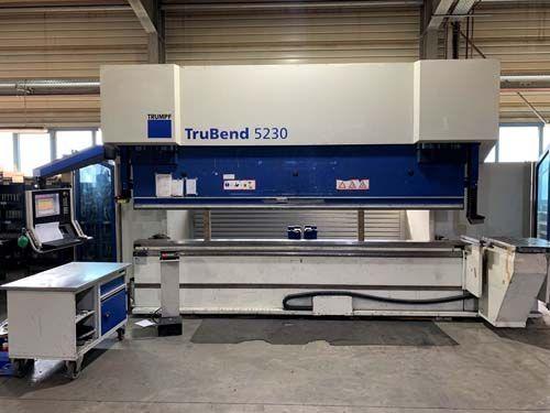 CNC Servo-Hydraulic Press Brake TRUMPF TruBend 5230 2008