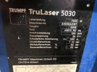 3D Laser TRUMPF TruLaser 5030 2007-Photo 19