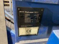 3D Laser TRUMPF TruLaser 5030 2007-Photo 9