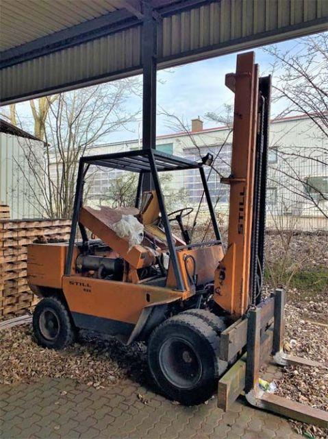 Front Forklift STILL DFG8 / 3318 1981