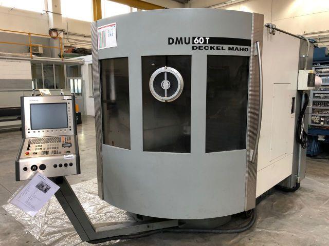 Centre dusinage vertical CNC DECKEL MAHO DMU 60 T 2004