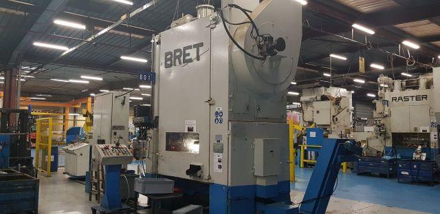 Presse mécanique à arcade PRESSE BRET 125 T 2 PAM 12 1981