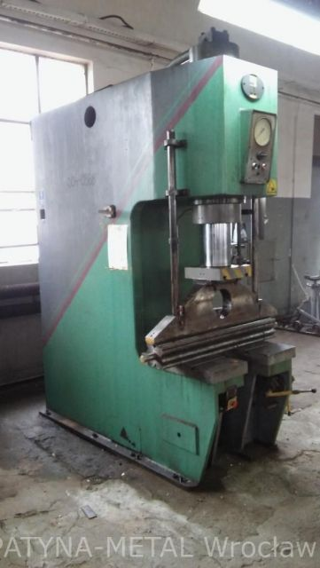 C Frame Hydraulic Press Stanko P6330 1987