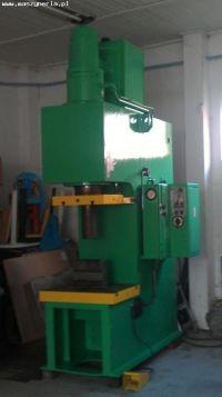 Prensa hidráulica tipo C ERFURT PYE 100 S1