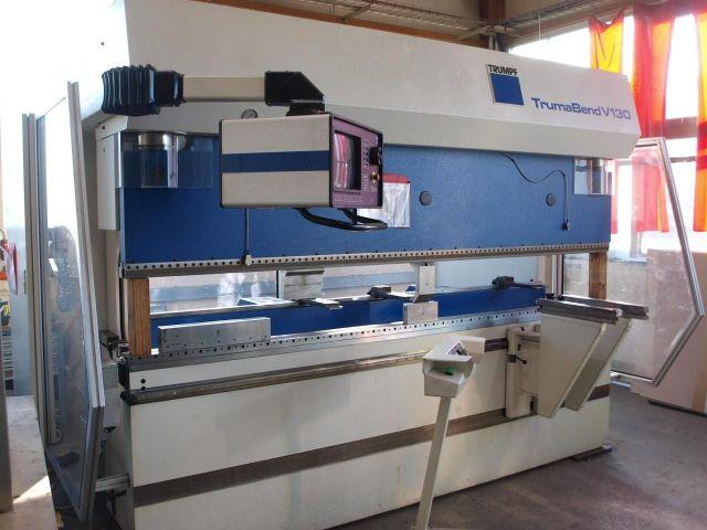 CNC Hydraulic Press Brake TRUMPF Truma Bend V 130 2000