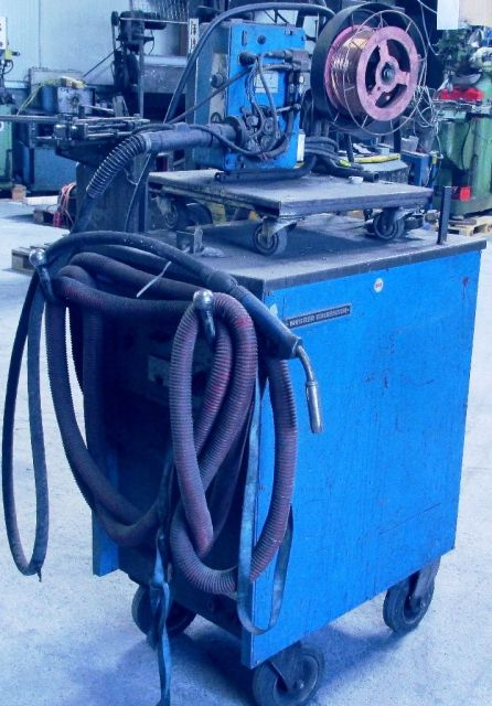 Seam Welding Machine MESSER  GRIESHEIM ARGOMAT  500 1985