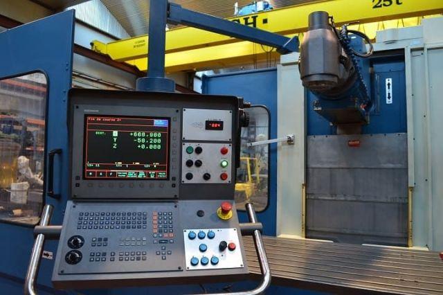 Fresadora CNC CORREA A25/30 (9253802) 1997