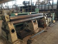 3 Roll Plate Bending Machine Mach a Fischer 4000 / 15