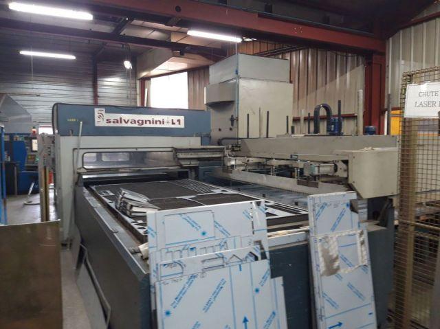 Machine de découpe laser 2D SALVAGNINI L1-12 L1-3015 1999