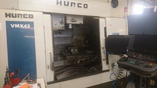 CNC centro de usinagem vertical HURCO VMX 42 2003
